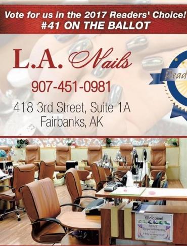 L.A Nails Poster